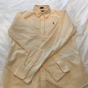 Ralph Lauren size 6 Classic slim button-down shirt